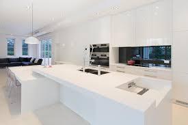 pro kitchens design appliances spotless white modern kitchen design with bowl shape