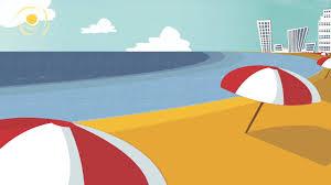 cartoon beach scene free download clip art free clip art on