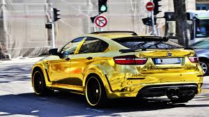 nissan gtr vs bmw x6m gold bmw x6m custom hamann supreme edition 1 dream cars wish