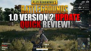 pubg review quick review of the new pubg 1 0 version 2 update youtube