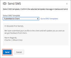 how can i send mass sms to candidates and contacts