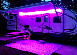 rv awning lights multi color leds for rvs cers and trailers