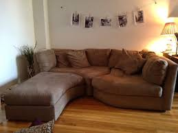 Apartment Sectional Sofas Apartment Size Sectional Sofa Arrangement Ideas Decorspot Net