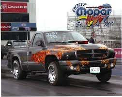 2002 dodge dakota r t nitrous 1 4 mile drag racing timeslip specs