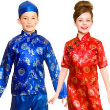 boys chinese fancy dress ebay