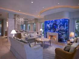 Fish Tank Living Room Table - impressive built in fish tank dining room contemporary with