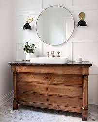 Wooden Vanity Units For Bathroom Wooden Bathroom Vanity Units P12 In Simple Inspirational Home