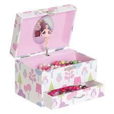 children s jewelry box girl box childrens musical jewellery box rectangle