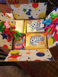 birthday care packages happy birthday care package care package like the idea