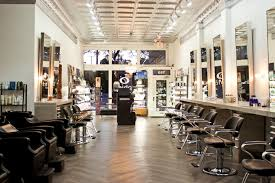 modern hair salon design ideas with bright lighting fixtures nytexas