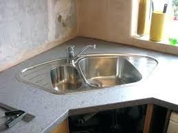stainless corner sink corner sink furniture cool silver stainless corner kitchen sink with