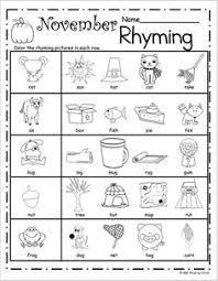 free november worksheets for kindergarten or first grade great