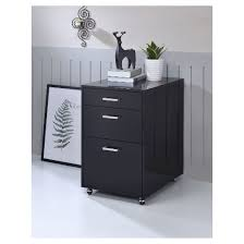 File Cabinets At Target by Lateral Filing Cabinet Black Chrome Acme Furniture Target