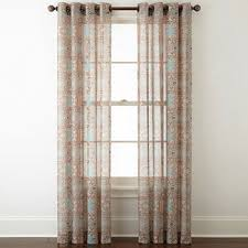 Curtains 80 Inches Wide Sheer Curtains Panels U0026 Window Sheers Jcpenney