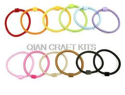 bulk elastic bulk 100pcs assorted girl kids sturdy hair bands elastic