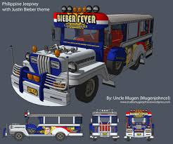 philippine jeep philippine jeepney sketchup model with justin bieber theme design