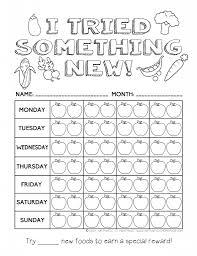 printable healthy eating chart u0026 coloring pages reward charts