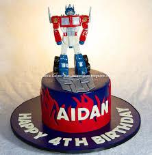 transformer cakes handmade fondant optimus prime transformers cake cake by