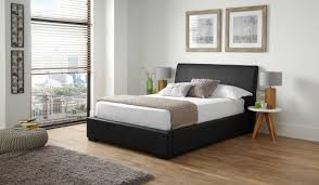 Faux Bed Frames Leather Ottoman Bed With Vegas Faux Leather Ottoman Bed Frame