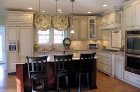 distressed white kitchen cabinets u2014 desjar interior