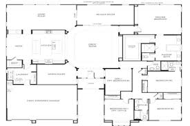 single story 5 bedroom house plans 32 big one story house floor plans pics photos big one story