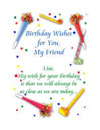 birthday cards ideas birthday card verse for friend