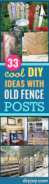 34 cool ways to use fence posts diy joy