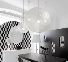 pendant light random light l white led ø105cm h105cm moooi