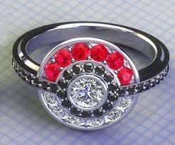 pokeball engagement ring pokeball engagement ring