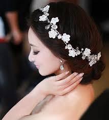 hair pieces for wedding bridal hairband headband flower garland hair claws wedding