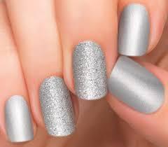 silver nail polish appliques nail strips nail color incoco
