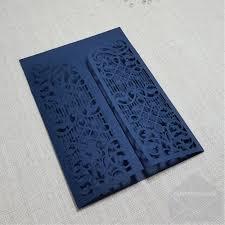 wedding invitations nz z cw5102 blue gate wedding invitation cover lasercut my envelopes nz