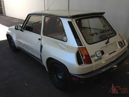 1986 renault alliance renault r5 turbo 2 factory modified absolutely perfect no reserve