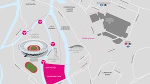 Map A Walking Route by Iaaf World Championships Official Website