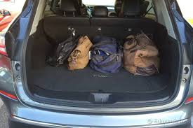 ford explorer trunk space cargo space versus the rogue 2015 nissan murano term road test