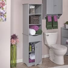 All In One Multipurpose Bathroom Furniture Which Hides A by Amazon Com Riverridge Ashland Collection Tall Cabinet Gray