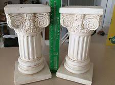 Greek Column Pedestal Unbranded Ceramic Porcelain Plant Stands Ebay