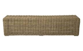 furniture enhance your home with a tasteful rattan bench