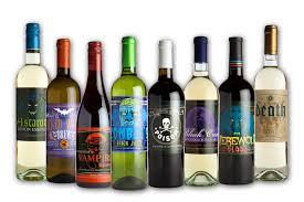 how to make a wine bottle l amazon com halloween glow in the dark wine bottle label stickers 8