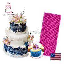 cake lace pearl mat 250x100mm cake lace mould fondant silicone molds for cake