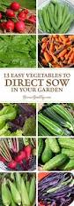 What Vegetables Need A Trellis 13 Easy Vegetables To Direct Sow