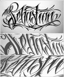 1618 best tattoo lettering fonts images on pinterest chicano