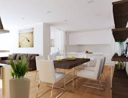 house open plan living kitchen dining room