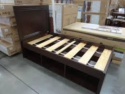 Costco Bed Frame Metal Universal Furniture Sabella Sleigh Bed Regarding Frame