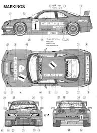 nissan skyline drawing outline index of var albums blueprints car blueprints nissan