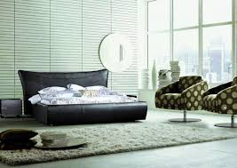 Bedroom With Black Furniture Wall Colors To Suit A Bedroom With Black Modern Furniture Set La