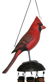 cardinal bird home decor amazon com cohasset 175ca cardinal wind chime unique wind