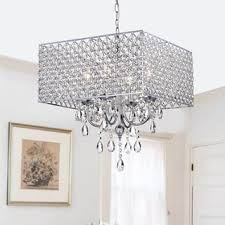 Crystal Sphere Chandelier Ceiling Lights For Less Overstock Com