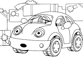 coloring car interesting doc free printable train templates