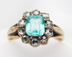 rings emerald images Austro hungarian emerald ring victorian emerald diamond ring jpg